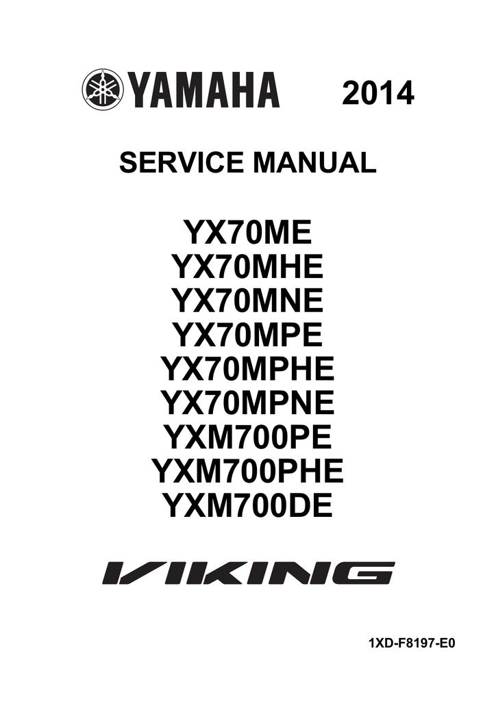[LM_3694] Wiring Diagram For Yamaha Viking Download Diagram