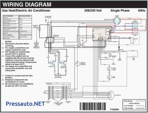 Furnace Wiring Diagram Goodman / Where To Attach The C