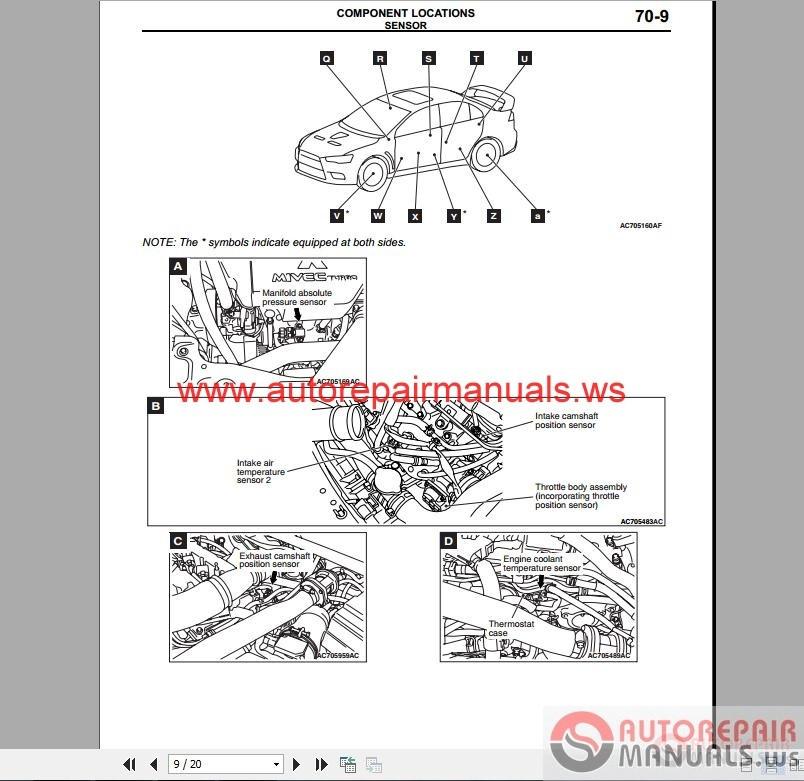 [OH_6290] Mitsubishi Cedia Wiring Diagram Free Diagram