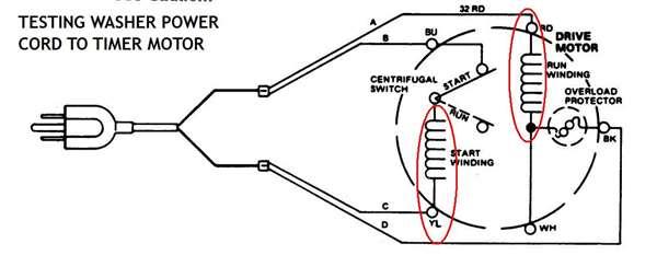 [23+] 5 Wire Washing Machine Motor Wiring Diagram