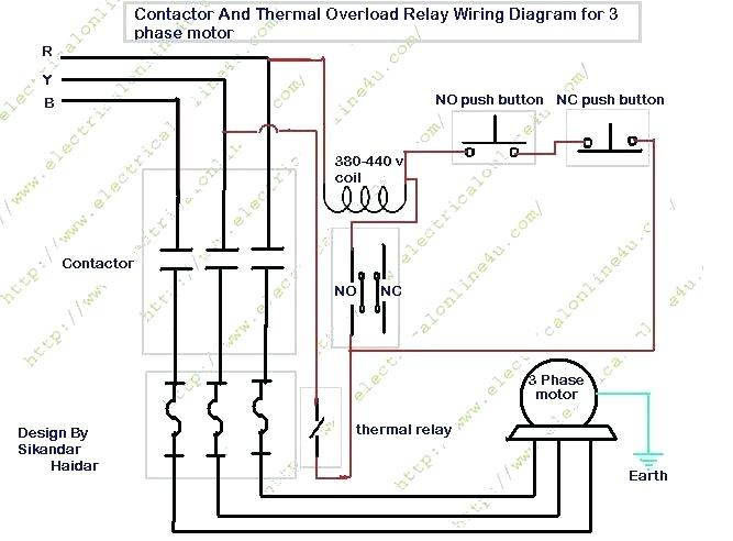 [VM_2971] Magnetic Contactor 1 Pole Relay Wiring Free Diagram