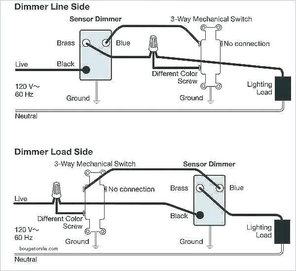Lutron Maestro Multi Location Dimmer Wiring Diagram