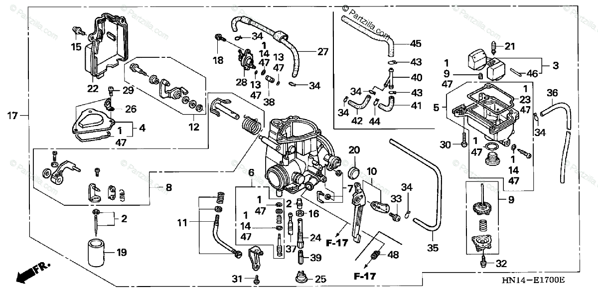 [OL_5771] Honda 400Ex Carburetor Diagram Schematic Wiring