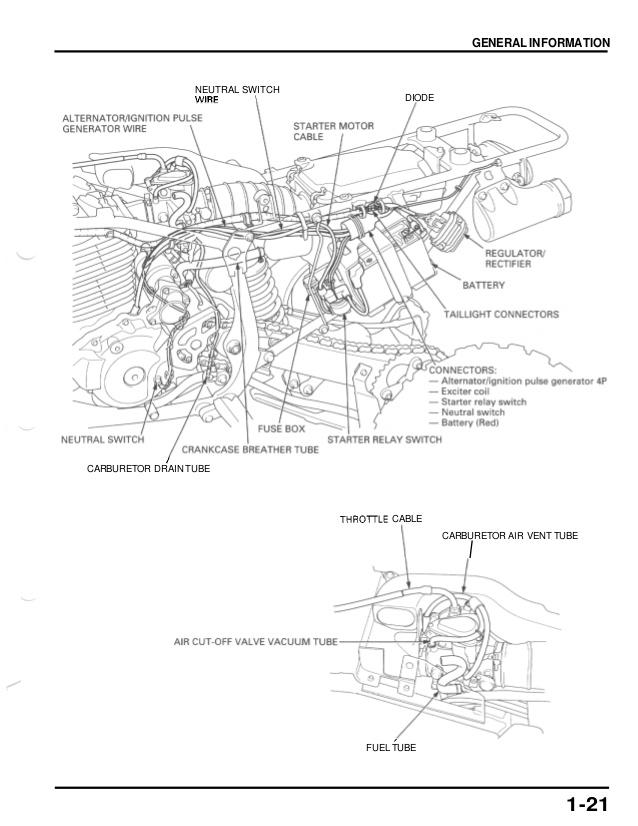 [OL_5771] Honda 400Ex Carburetor Diagram Schematic Wiring