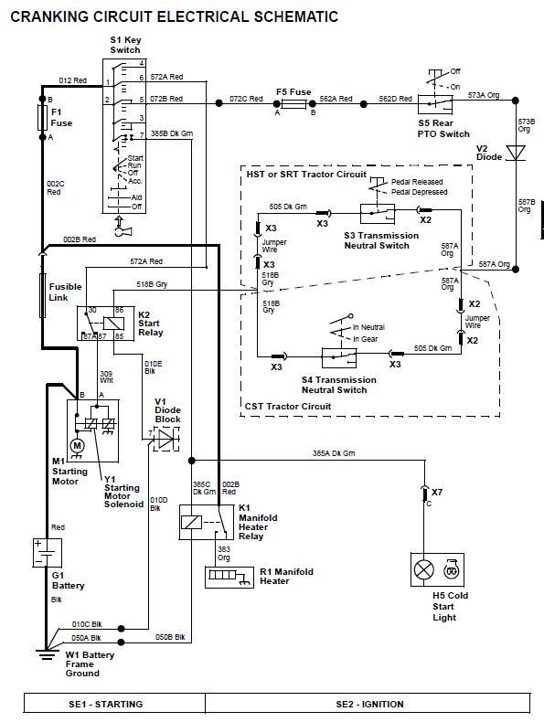 [YT_7806] John Deere 4100 Electrical Diagram Free Diagram
