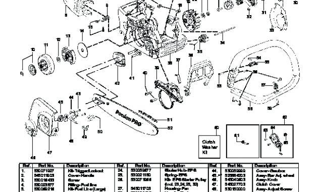 [BD_4075] Poulanchainsawpartsdiagram Free Diagram