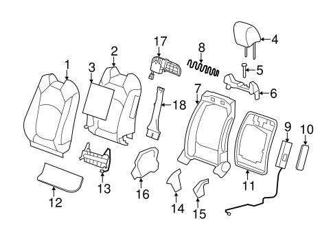 [GA_7994] 2011 Chevy Traverse Parts Diagrams Auto Parts