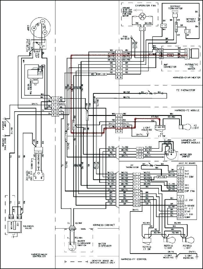 [RY_6482] Wiring Diagram Frigidaire Gallery Refrigerator