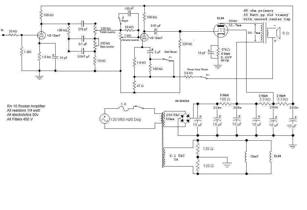 [OX_6966] Premier Amp Schematic Download Diagram