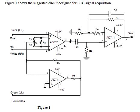 [EK_2042] Need Help With Ecg Circuit Using Ad620 Wiring