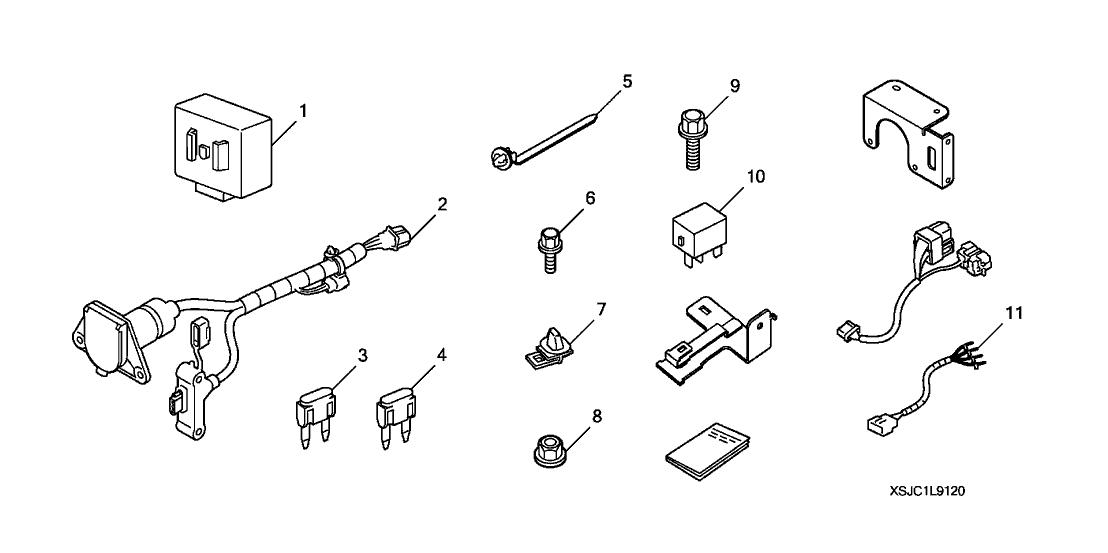[LC_9915] Honda Ridgeline Hitch And Harness Schematic Wiring