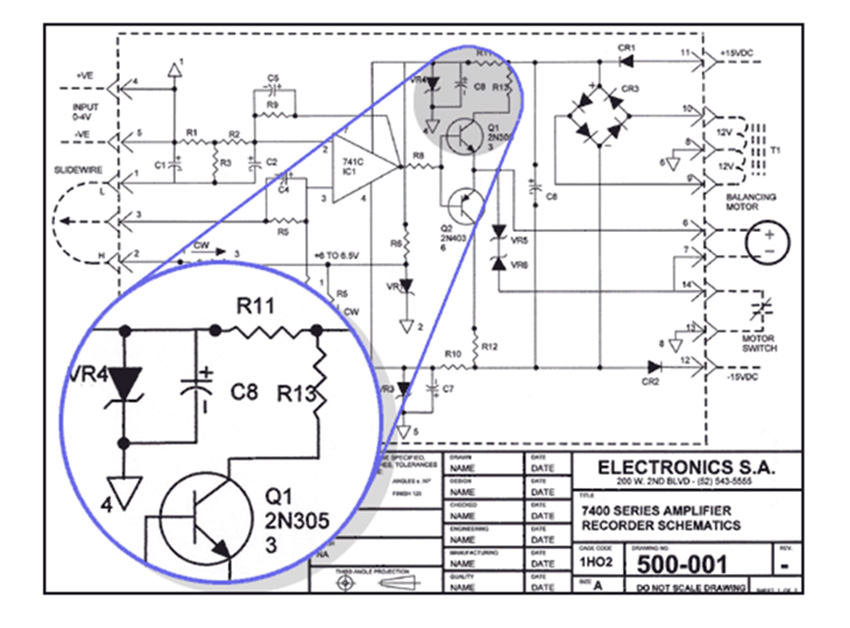 [XN_0258] Electrical Plan Cad Drawing Schematic Wiring