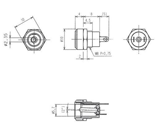 [KE_1280] Dc Power Jack Schematic Download Diagram