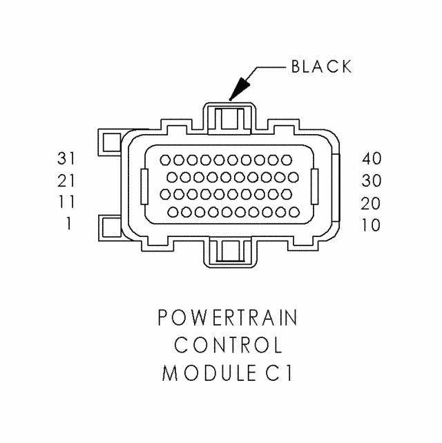 [HS_8386] 06 Pt Cruiser Pcm Wiring Diagram Tcm Download