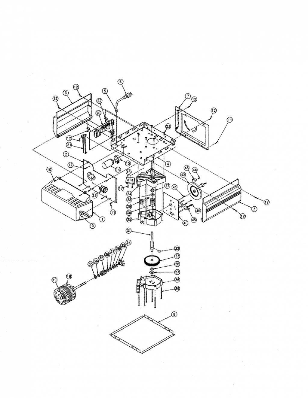 [ZX_4894] Garage Door Schematic Diagram Download Diagram