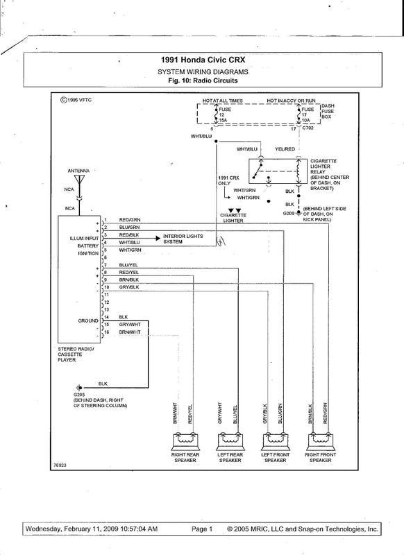 1990 honda civic ac wiring diagram  1998 ford e250 fuse