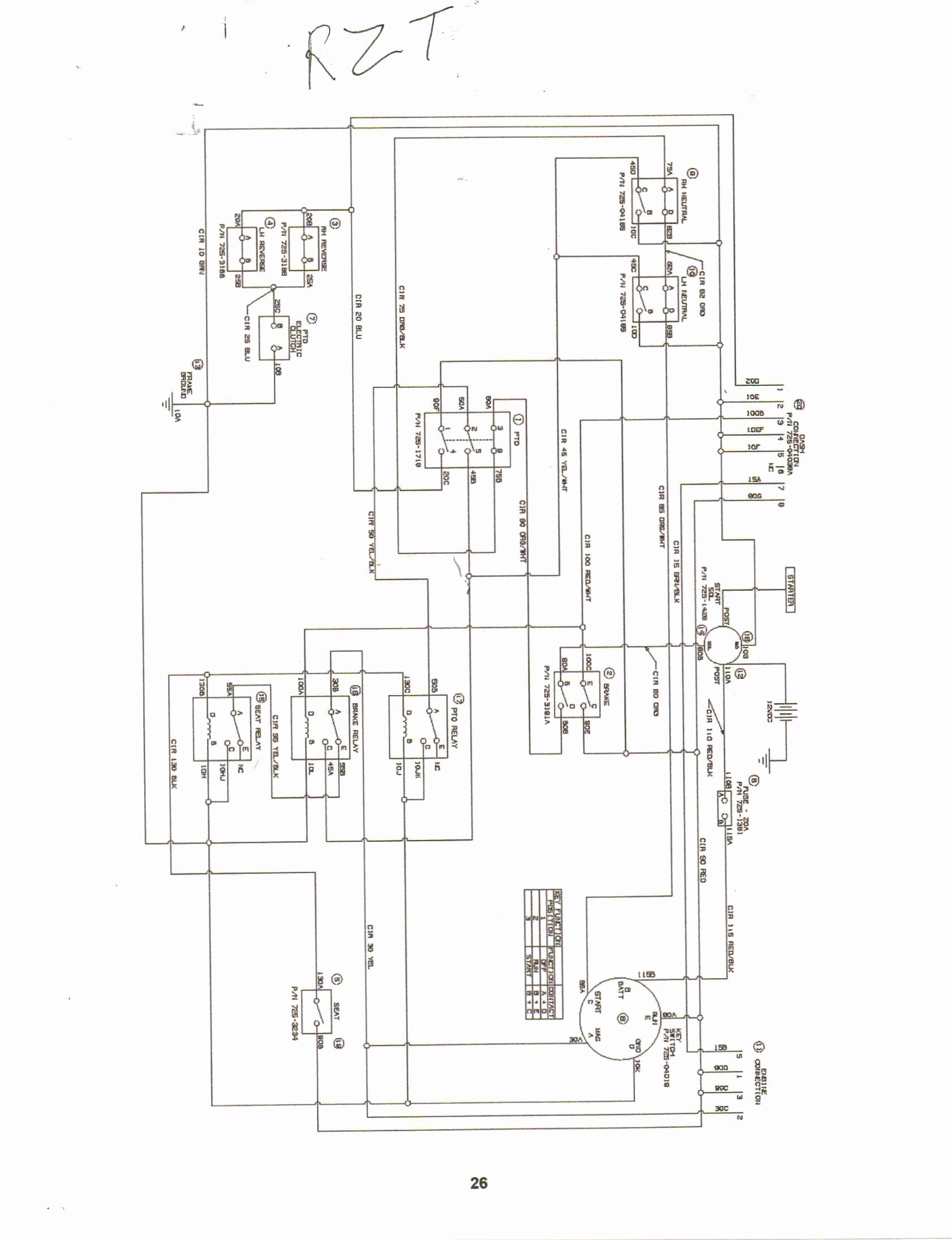 Cub Cadet Gt1554 Wiring Diagram For Your Needs