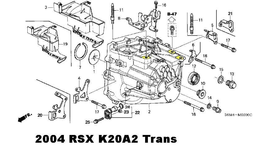 [VY_9710] Rsx Intake Manifold Engine Diagram Free Diagram