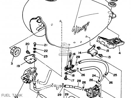 Xv250 Yamaha Virago 250 Wiring Diagram