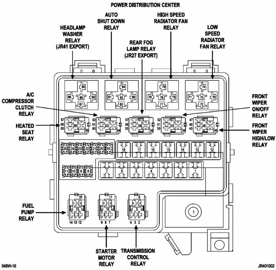 [DIAGRAM] 2006 Dodge Charger Srt8 Fuse Diagram FULL