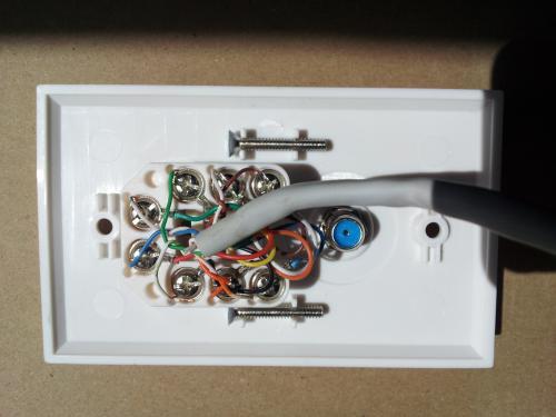 diagram cat 5 ether wall jack wiring diagram full version