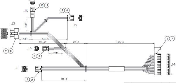 [ZR_0604] Aircraft Wiring Harness Drawing Free Diagram