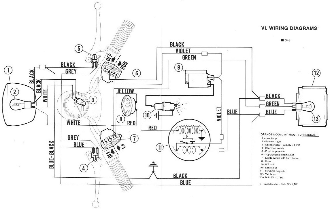[RG_1507] Vespa Wiring Diagram Conversion Wiring Diagram