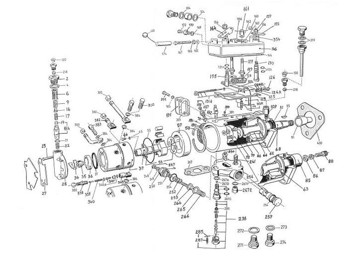 [DT_3660] Cav Fuel Injection Pump Diagram Schematic Wiring