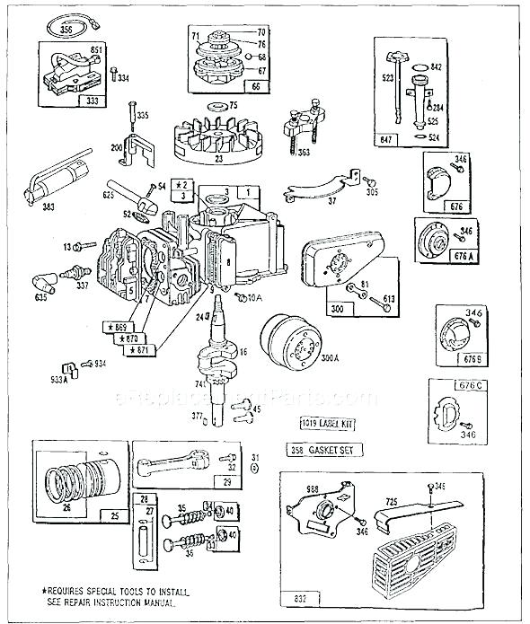 Briggs And Stratton 20 Hp V Twin Wiring Diagram Database