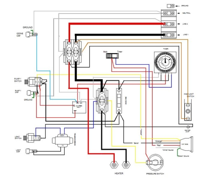jacuzzi hot tub wiring diagram  lt250r wiring diagram