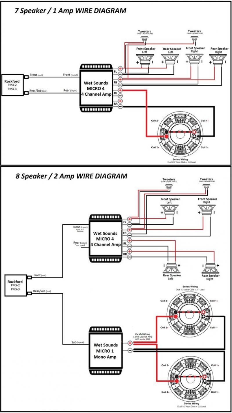 [YM_4969] Amp Rockford Fosgate 650 Mos Fet Wiring Diagram