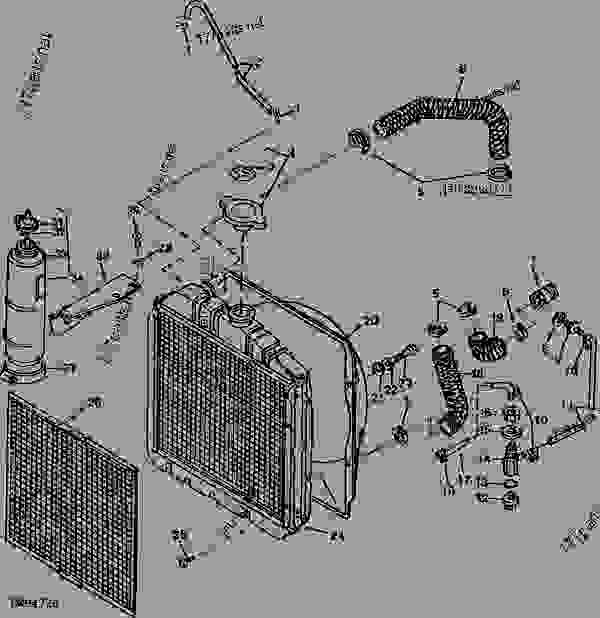 [YN_4317] For John Deere 1050 Tractor Wiring Diagram