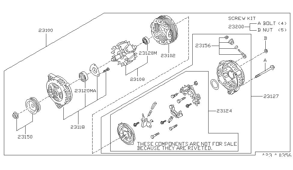 [NW_7468] Infiniti J30 Alternator Wiring Diagram Free Diagram