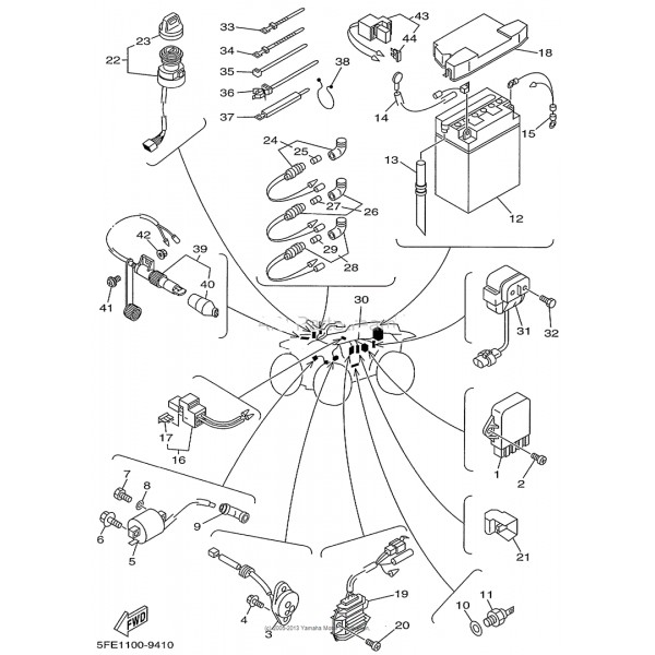 [GE_8858] Moreover Yamaha Big Bear 350 Wiring Diagram On