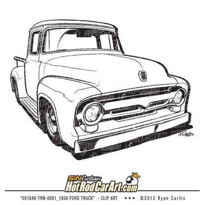 [GC_6783] 1955 Ford F100 Drawings Schematic Wiring