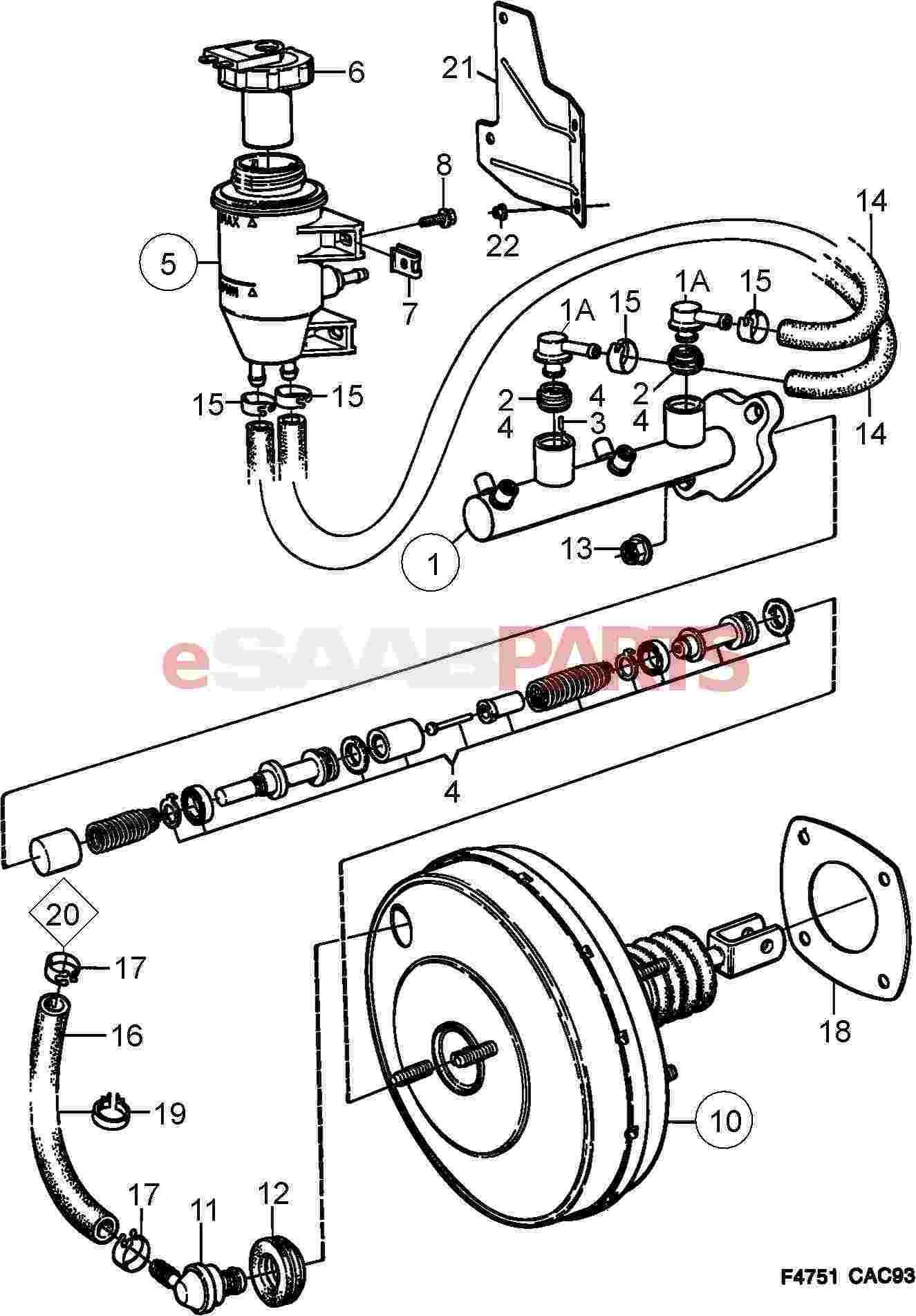 [SF_5269] Saab 900 Vacuum Hose Diagram Free Diagram