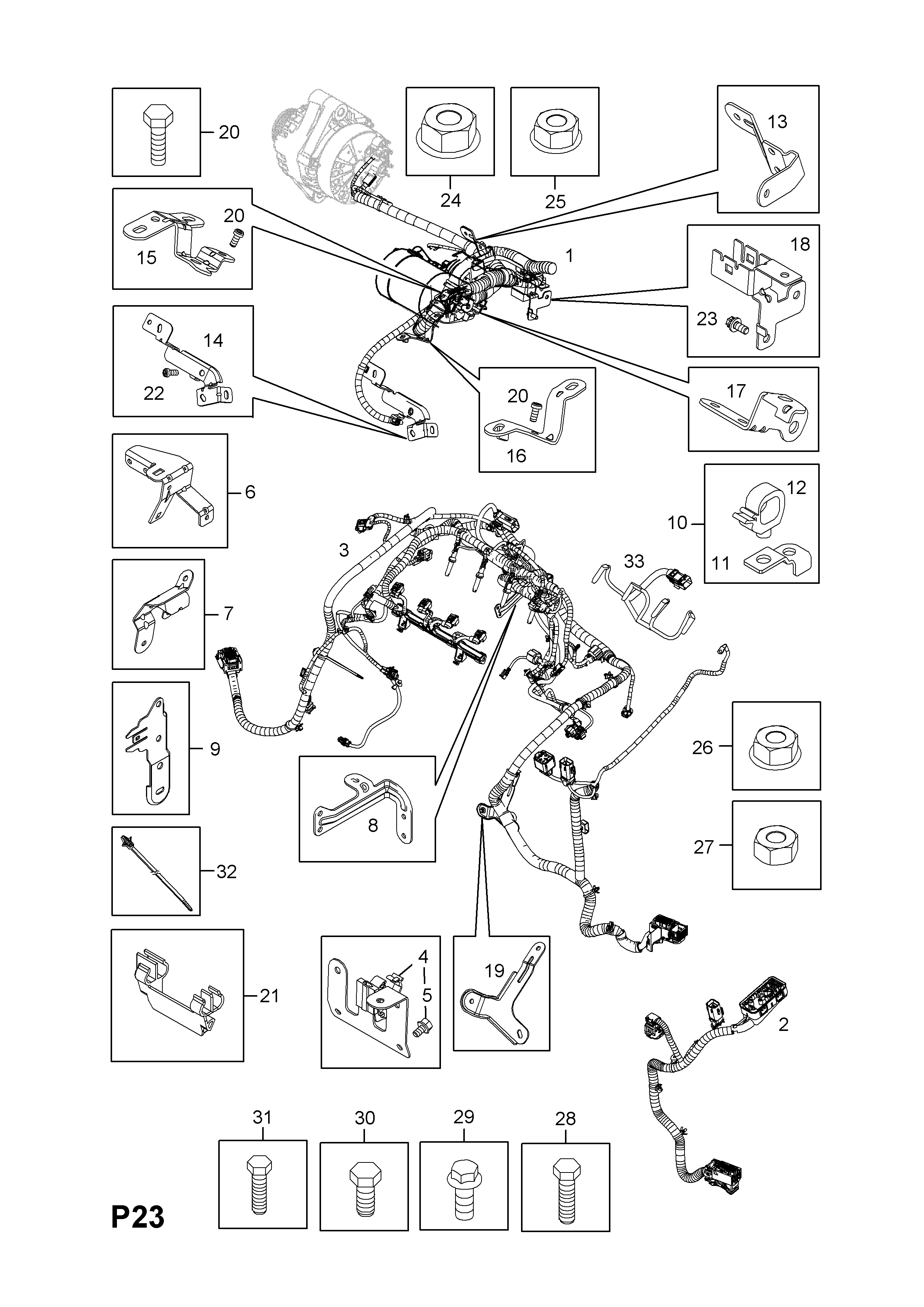 [CN_4583] Fuel Injection Wiring Harness Free Diagram