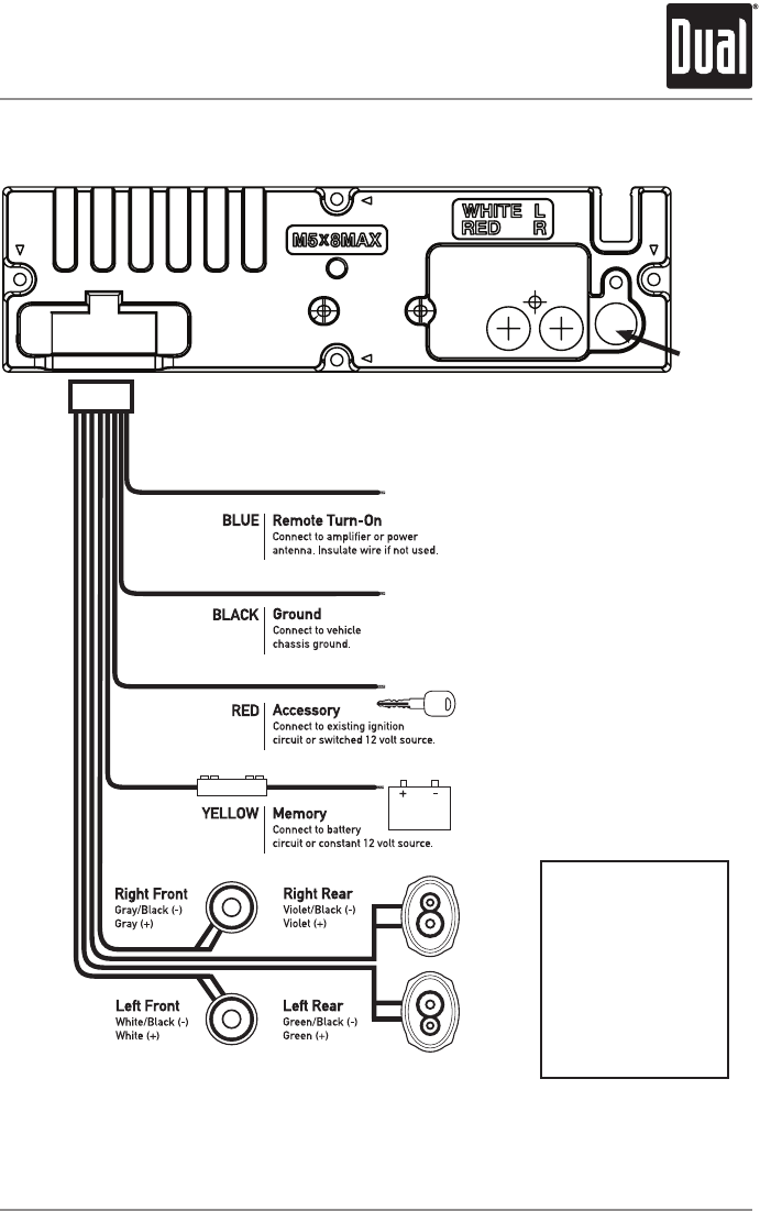 Dual Xd1222 Wiring Diagram For Your Needs