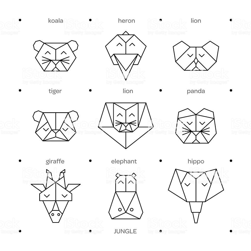 [OA_1120] Origami Giraffe Diagram Download Diagram