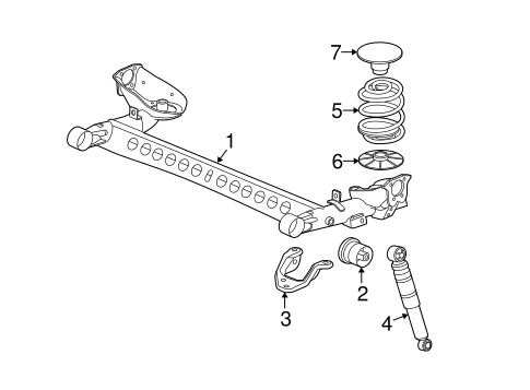 [CC_0365] Saturn Ion Rear Suspension Diagram Free Diagram