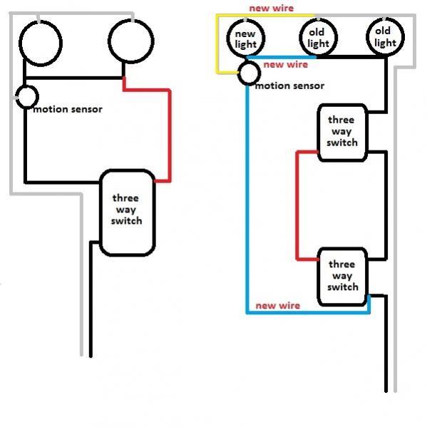wire motion sensor light wiring diagram  harley softail