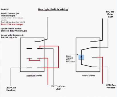 Lighted Rocker Switch Wiring Diagram : Lighted Momentary