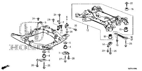 [SM_0765] Honda Accord Frame Diagram Schematic Wiring