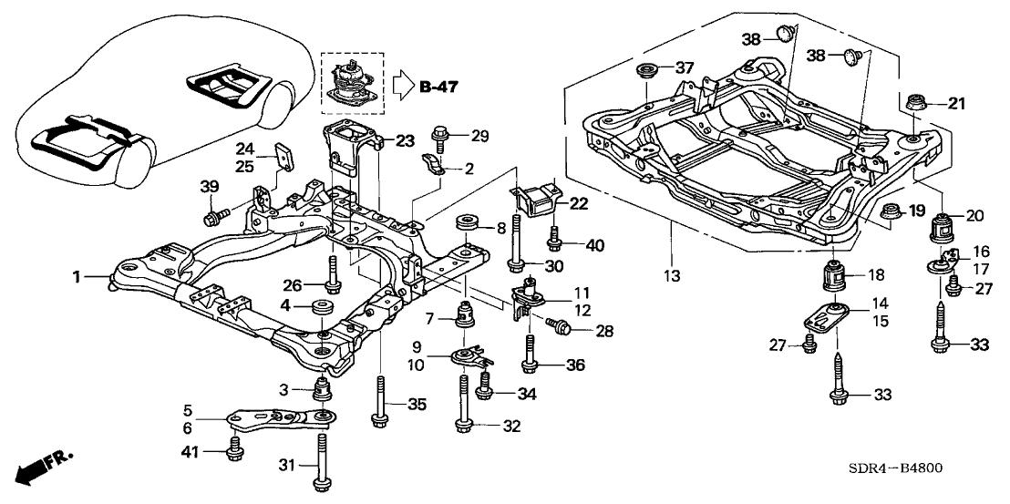 [TE_5668] Honda Accord Frame Diagram Download Diagram