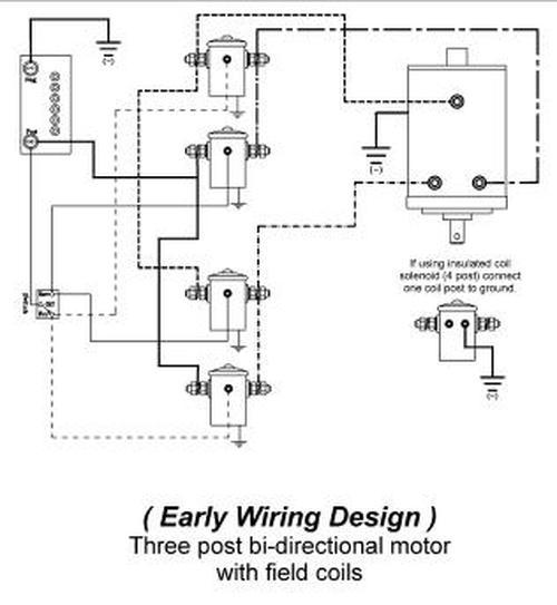 12 Volt Winch Solenoid Wiring Diagram : Winch Wiring