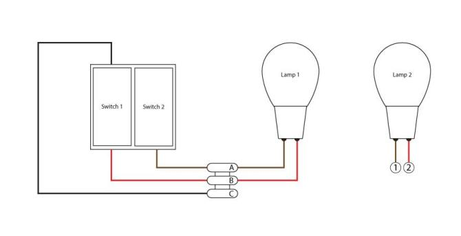 wiring diagram for double light switch  peugeot 207 wiring