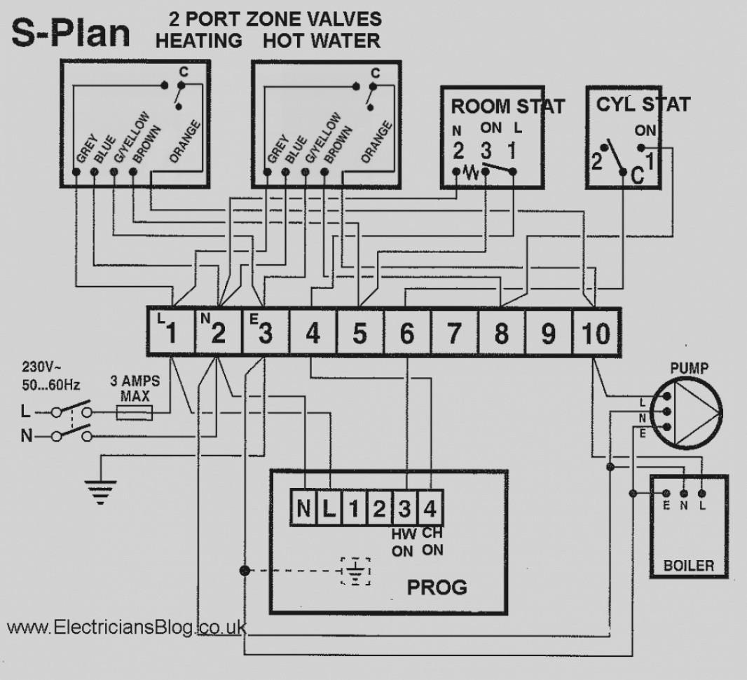 Wiring Diagram S Plan