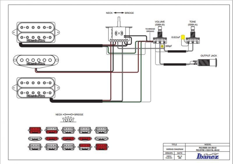 [LX_8903] Wiring Diagram Ibanez Afv10A Schematic Wiring