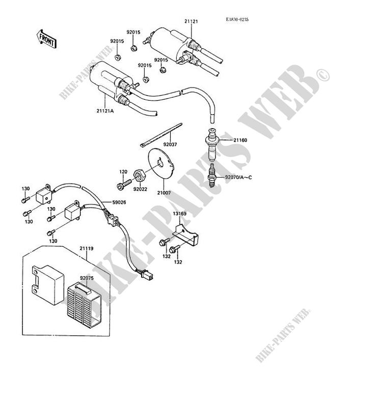 [MN_4506] Kawasaki Gpz1000Rx Wiring Diagram Free Diagram