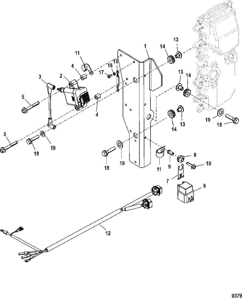 50 Hp Mercury Outboard Wiring Diagram / Yo 7082 Force